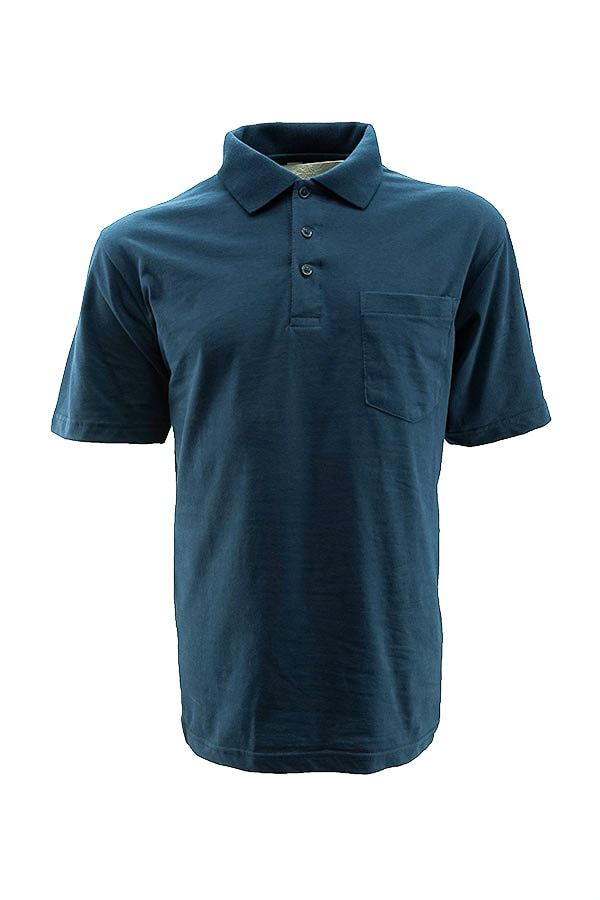 Technician's Polo T-Shirt With Pockets Navy Blue