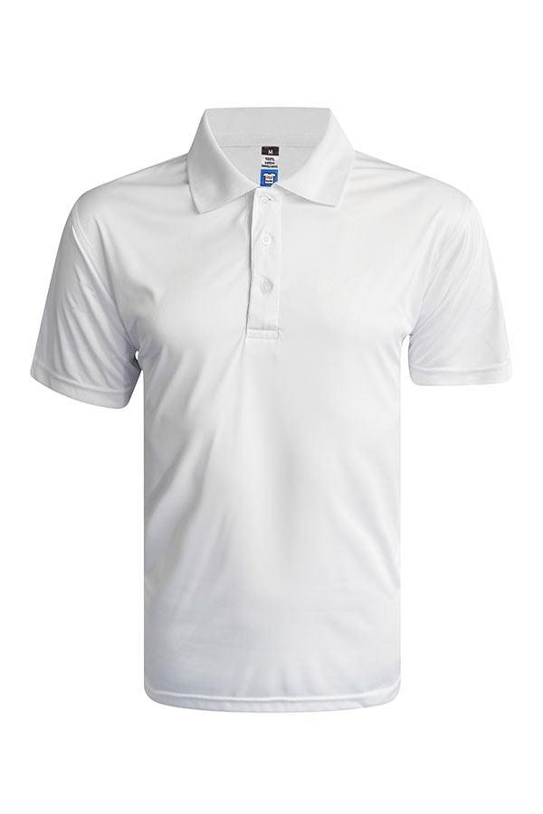 Vivid Super cool Polo - White