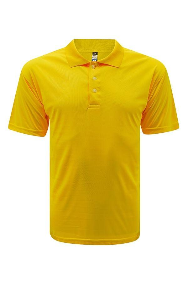 Vivid Super cool Polo - Yellow