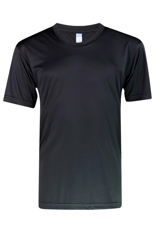 Vivid Supercool Black  T-Shirt