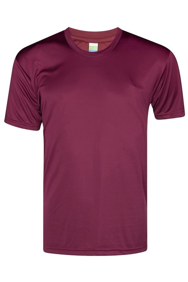 vivid Feather soft burgundy T-shirt