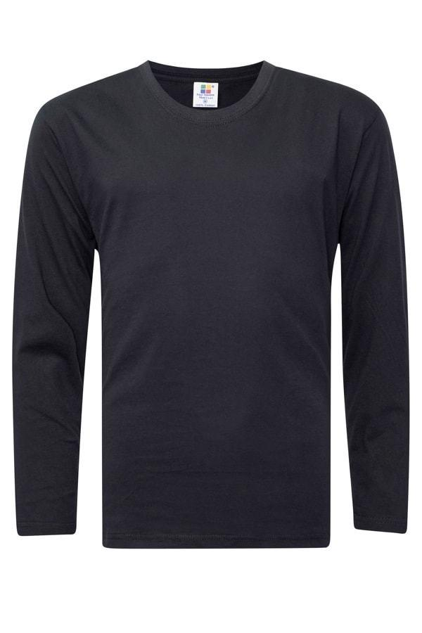 Vivid Supercool Microfiber long sleeve t-shirt black