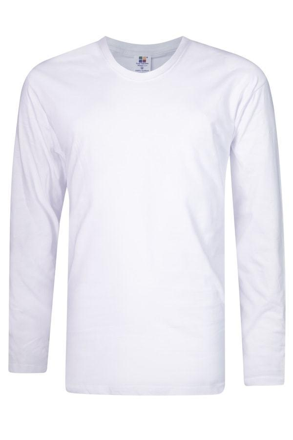 Vivid Supercool Microfiber long sleeve t-shirt white
