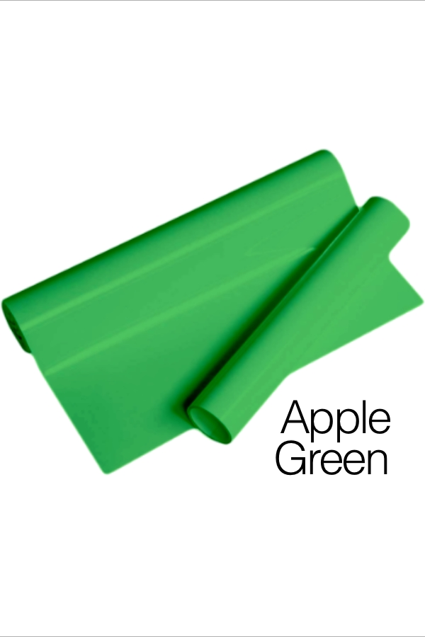 MD PVC Vinyl - Apple Green for Heat Transfer