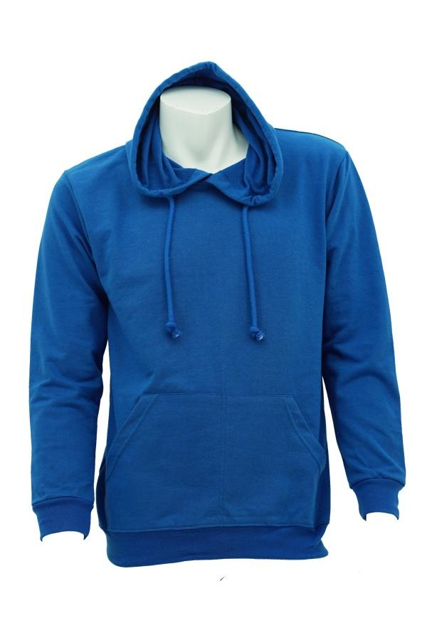 Baby Terry Hoodies Royal blue