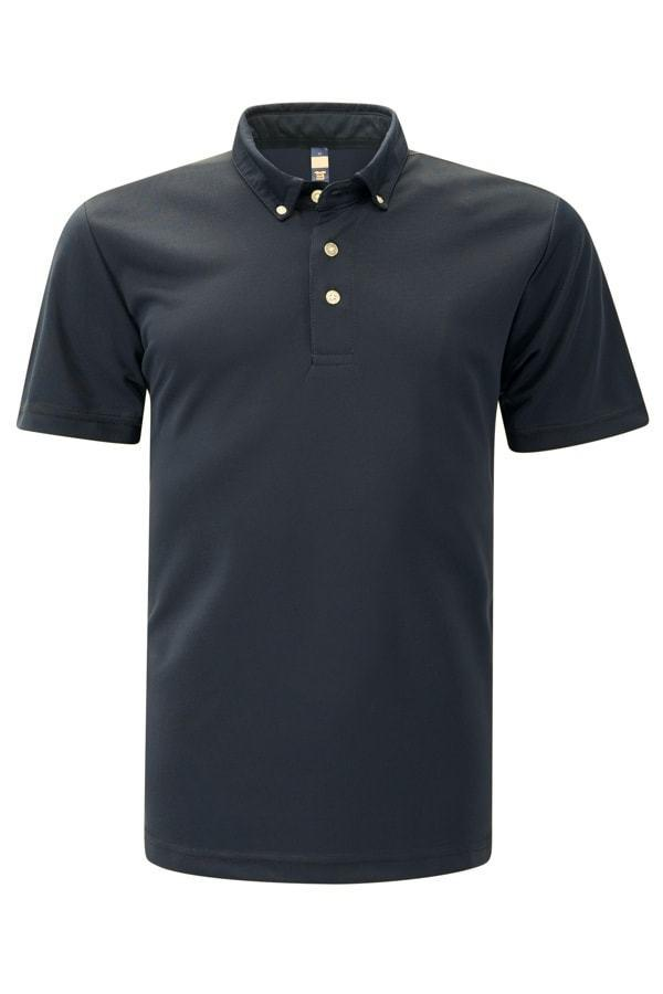 Feathersoft Polo - Black T-shirt
