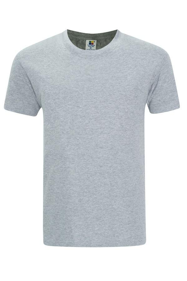 Enzyme Washed RoundNeck Ash Grey T-Shirt