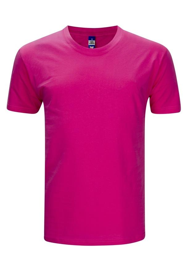 Frooty Full Cotton T-shirt - Fuchsia
