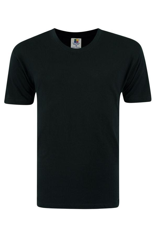 Frooty 100% Cotton T-shirt - Black