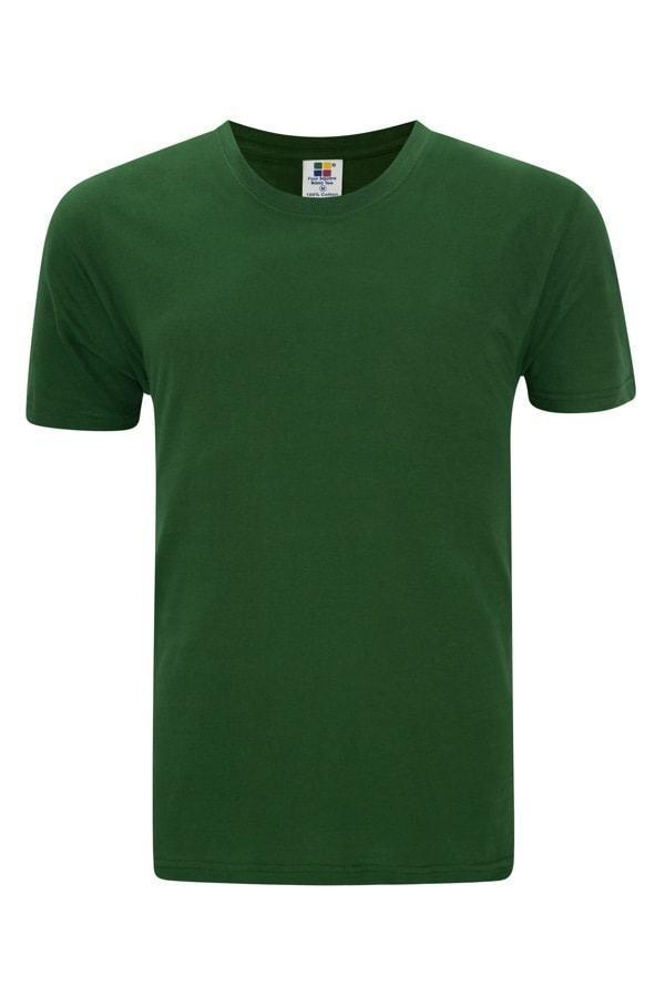 27cff82e Foursquare RoundNeck T-Shirt (160gsm) - Bottle Green