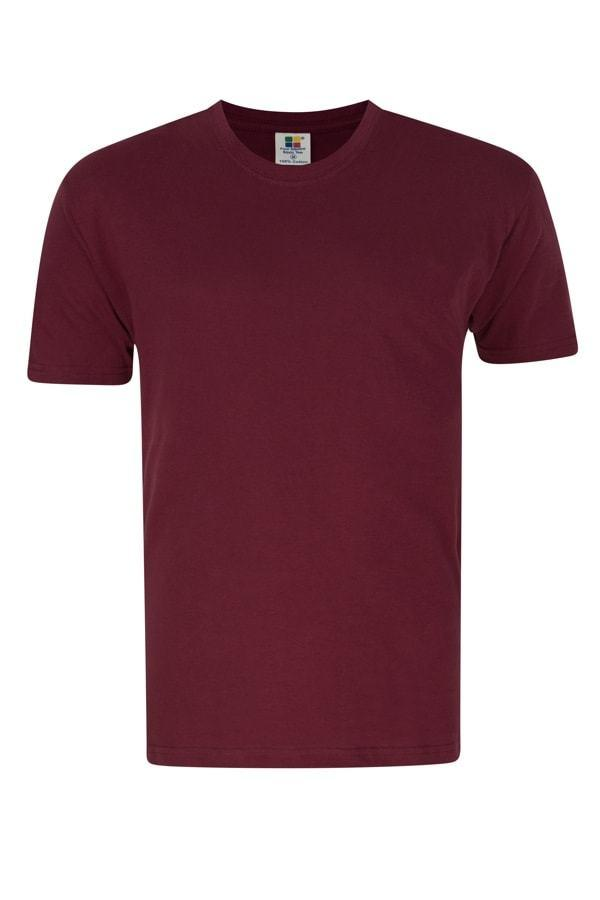 Frooty 100% Cotton T-shirt - Burgundy