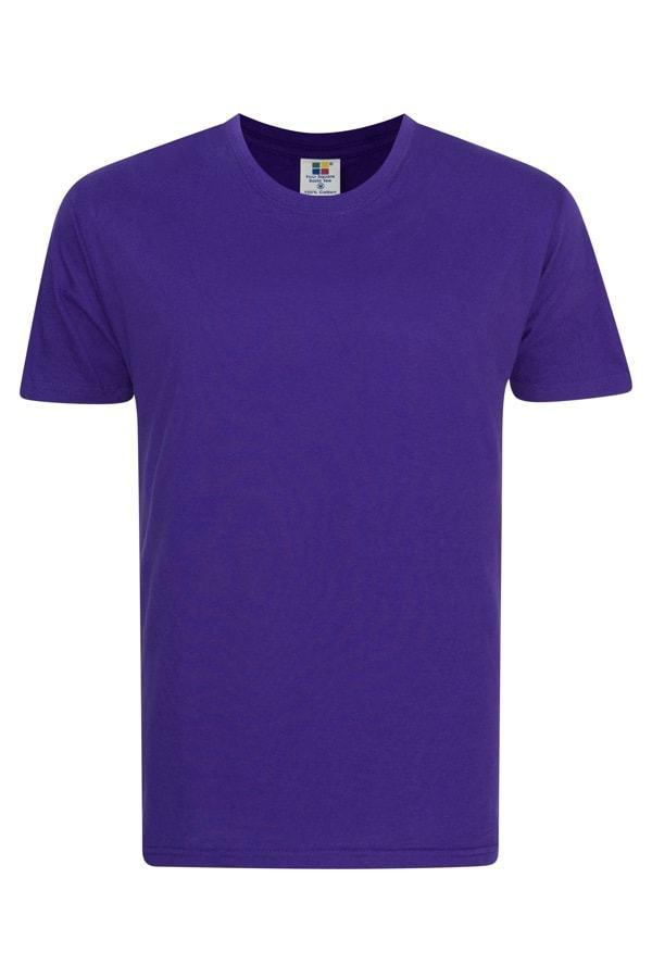 Frooty Full Cotton T-shirt - Purple