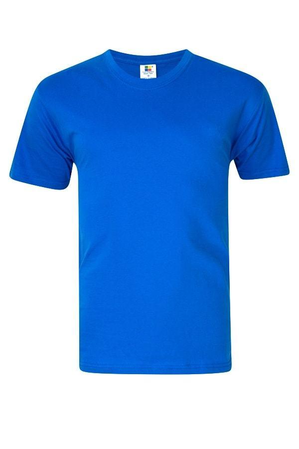 Enzyme Washed RoundNeck Tee  Royal blue T-Shirt