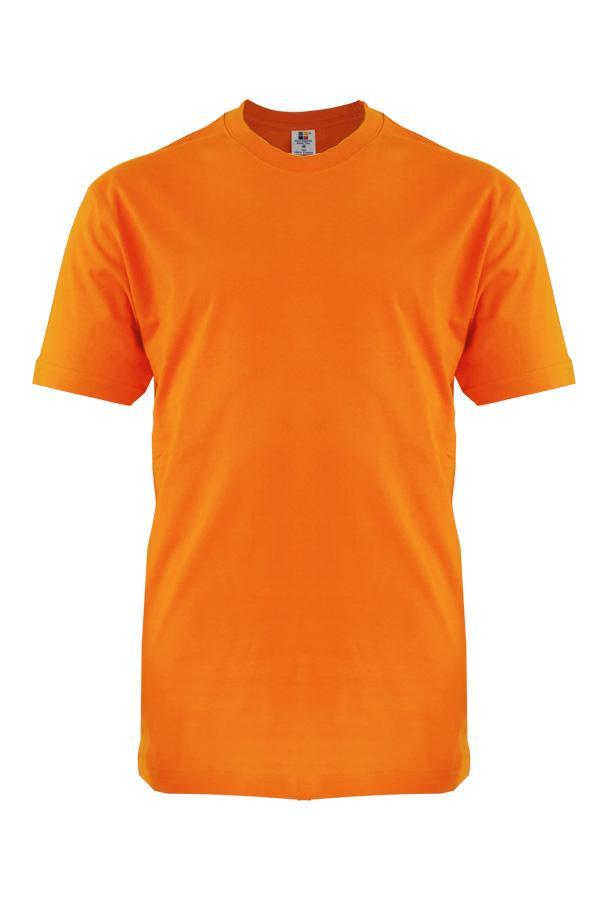 Foursquare Roundneck T Shirt 160gsm Orange Foursquare
