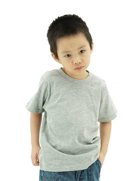 Foursquare Kids T-Shirt - Grey melange