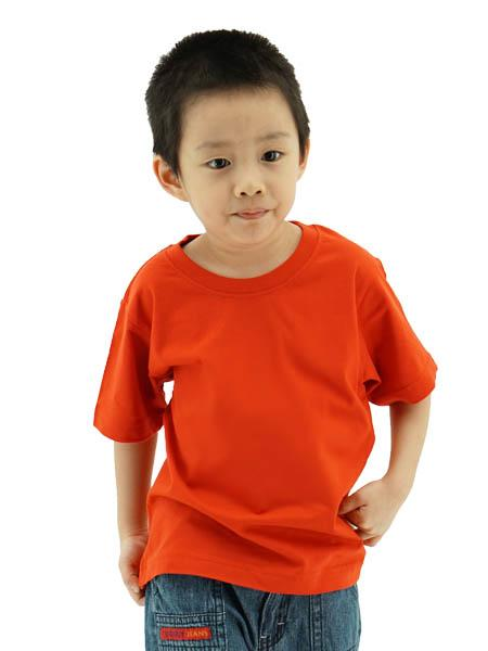 Frooty 100% Cotton Kids T-shirt - Red
