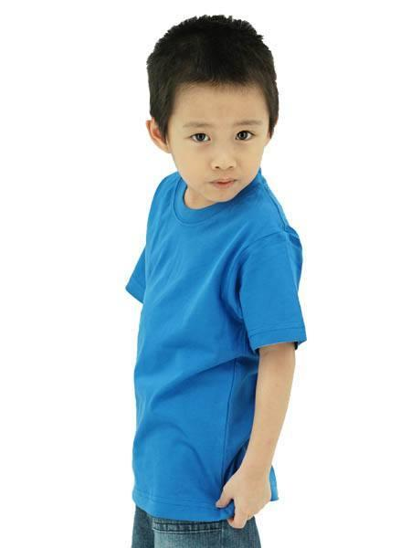 Frooty 100% Cotton Kids T-shirt - Royal Blue