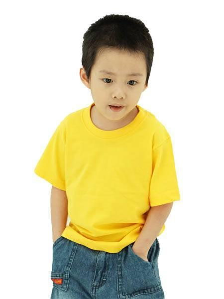 Frooty 100% Cotton Kids T-shirt - Yellow