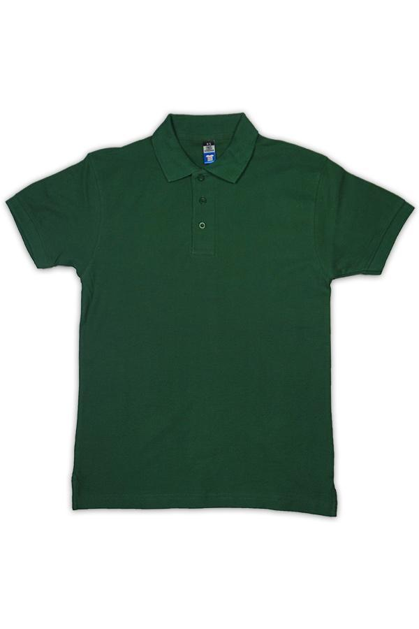 Kids Polo - Bottle Green