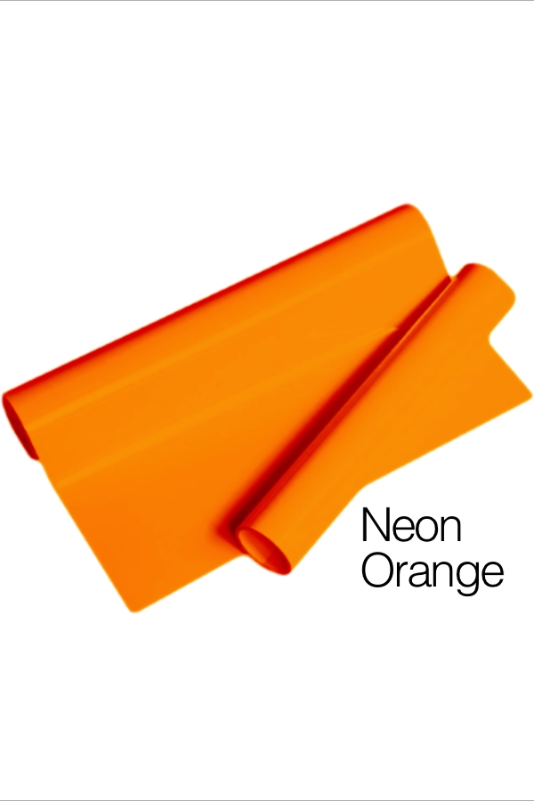 MD PVC Vinyl - Neon Orange for Heat Transfer
