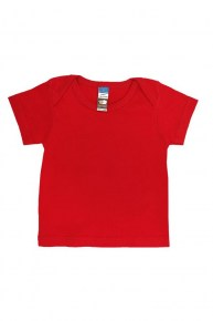 Baby Envelope Neck T-Shirt Red