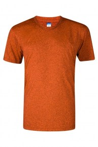Heather Supercool Performance Jersey - Sunset Orange