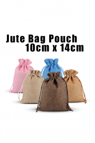Jute Bag Pouch (Medium - 10cmX14cm)