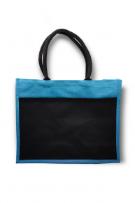 Group Jute Bag With Black Pocket (A3)