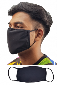 Anti Dust Face Mask - Black
