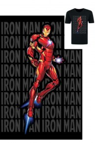 Iron Man Jet Flying Pose T-Shirt