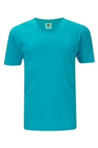 foursquare-160gsm-roundneck-turquoise-tshirt