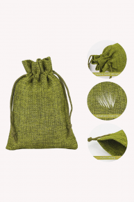 mini pouch jute bag