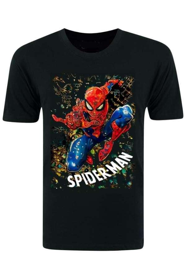 Spiderman Crashing T-Shirt   Spiderman