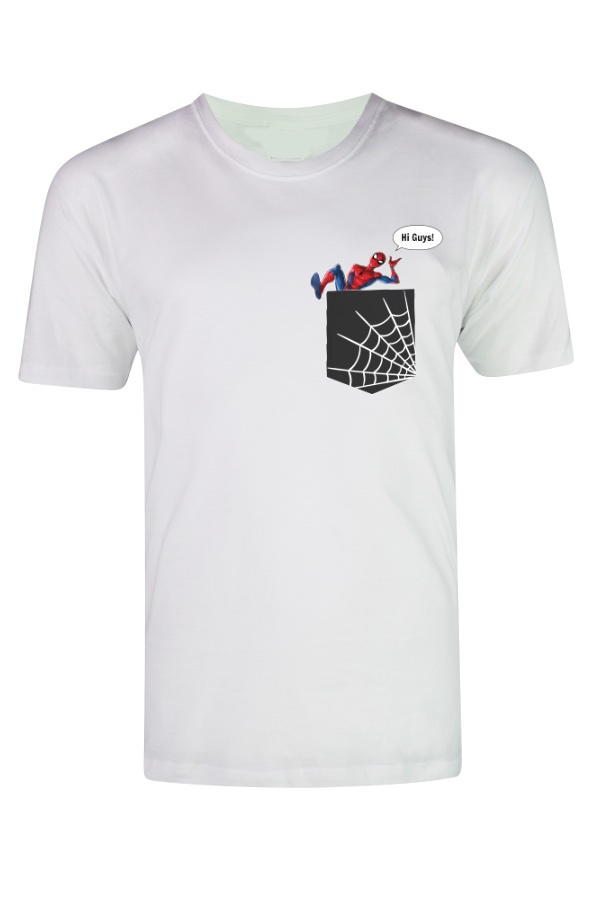Spiderman Say Hai Guys T-shirt