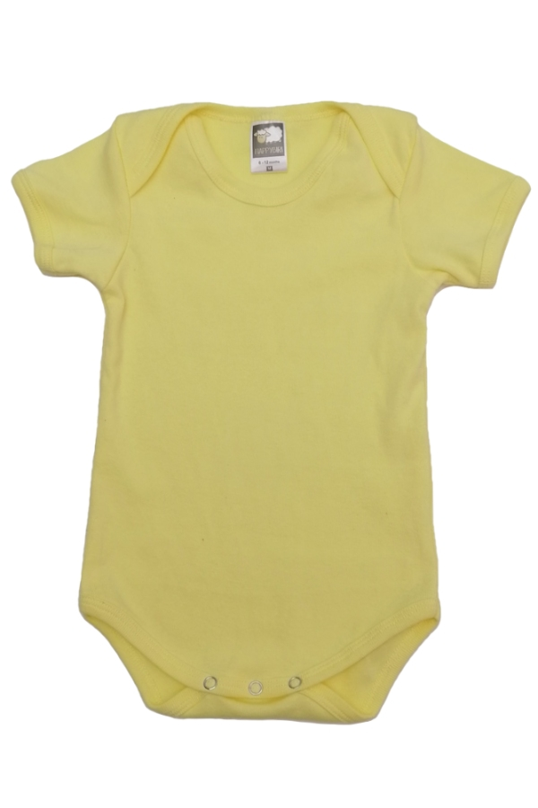 Value Romper - Light Yellow