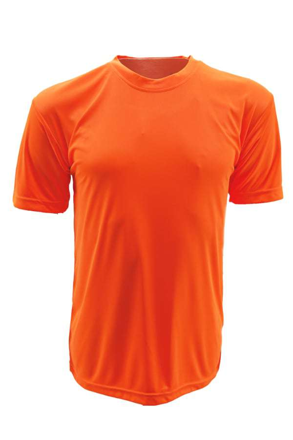 Vivid Super cool Neon orange  T-shirt