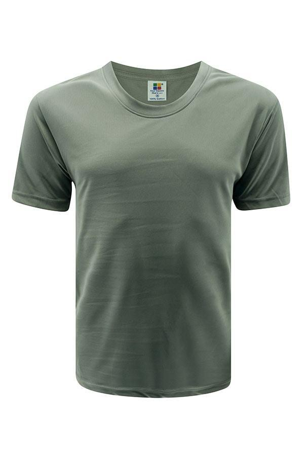 vivid Feather soft dark grey T-shirt