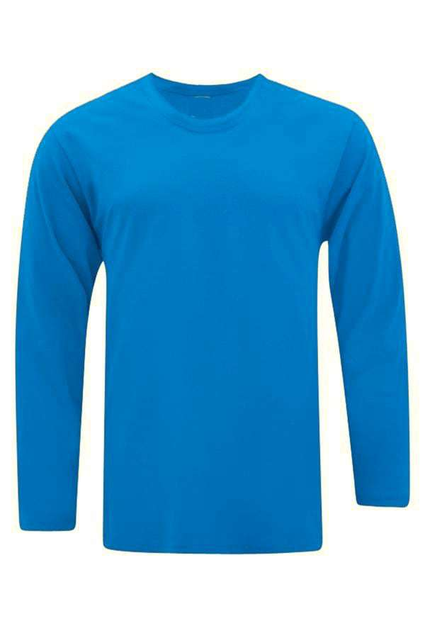 Vivid Supercool Microfiber long sleeve t-shirt turquoise