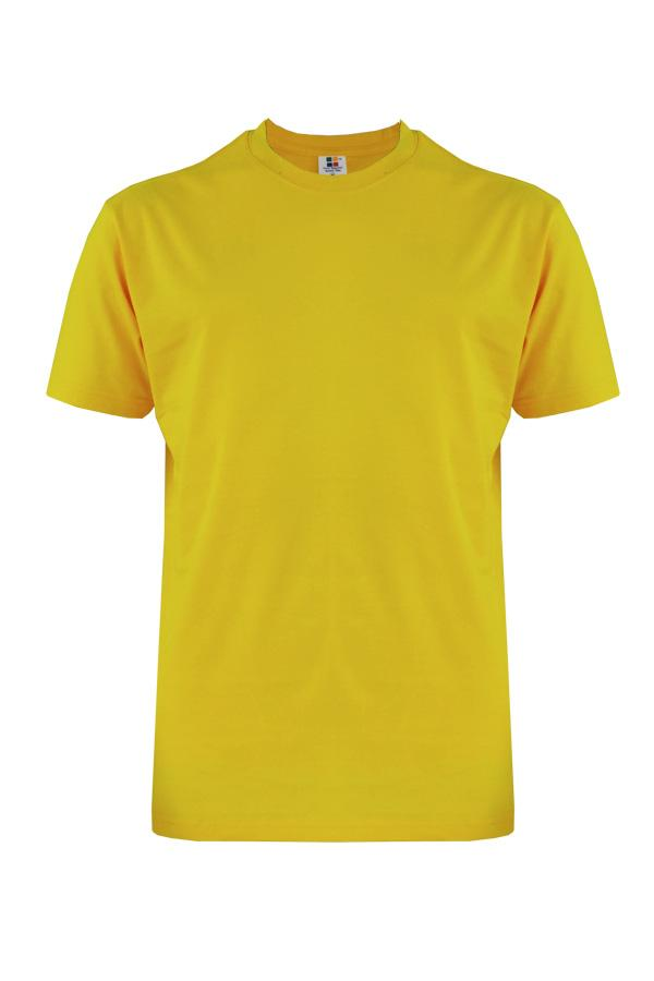 Round Neck T-Shirt Yellow (160gsm)