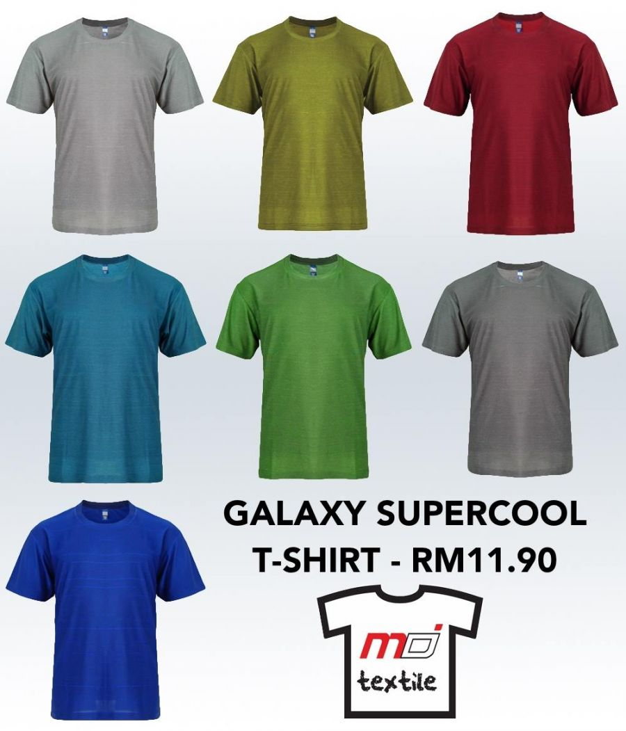 Galaxy Supercool is MD Textile's Latest Advance Performance T-Shirt