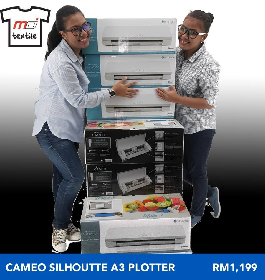 The NEW Cameo Silhoutte A3 Plotter