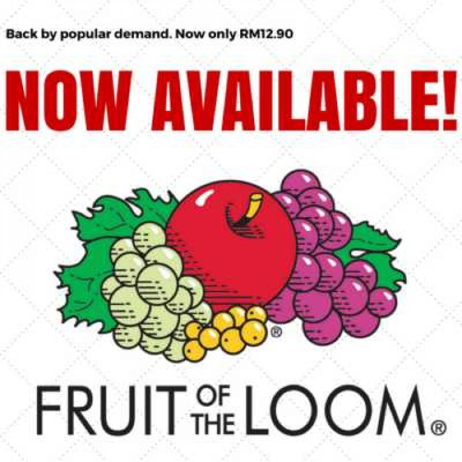 Fruit of the Loom (FOTL) T-Shirts has been restocked !!!