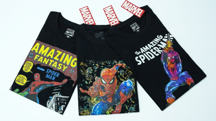 New Spider-Man T-Shirts and Other Freebies from MD Textile
