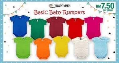 HappyBiri Baby Rompers - Affordable Quality Baby Apparel