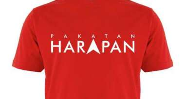 Pakatan Harapan Collectors Edition T-Shirt !!!