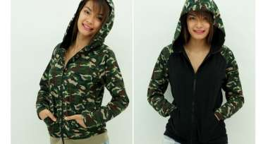 Jacket Raglan Hoodies - Celoreng / Camouflage edition