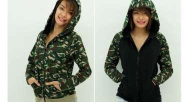 Jacket Raglan Hoodies - Celoreng / Camouflage edition