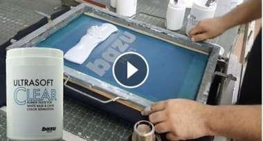 Ultrasoft Clear Screen Print Paste