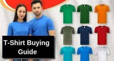 Cotton T-Shirt Buying Guide 2019