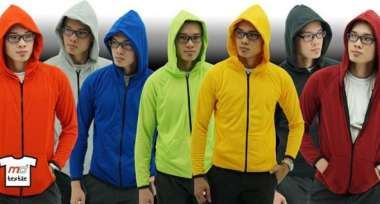 Microfiber Jacket with Hoodies